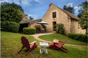 Le Bois charming rental near sarlat with swimming pool