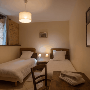 Le Rosier authentisches Familienferienhaus für 6 mit Pool in Perigord