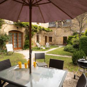Le Rosier Steinhaus für der Familie in Perigord mit Schwimmbad